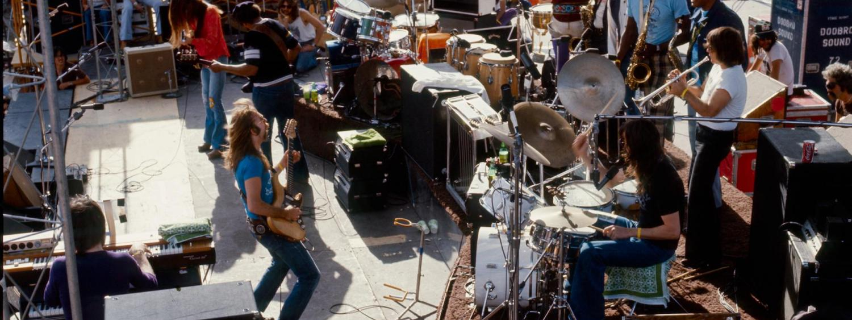 The Doobie Brothers play Folsom Field, Boulder. (Photo/Dan Fong)