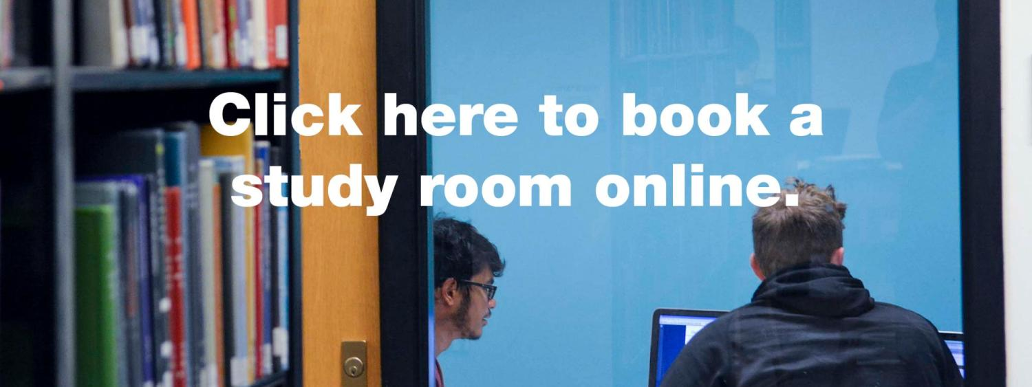Click this image to book a study room online.