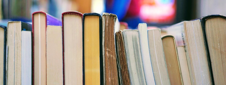Line of books