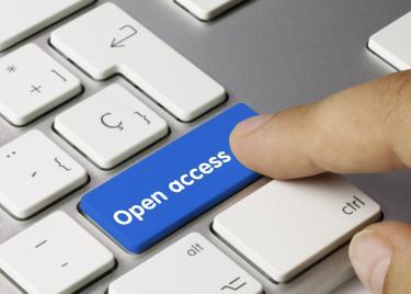 Open access button on keyboard