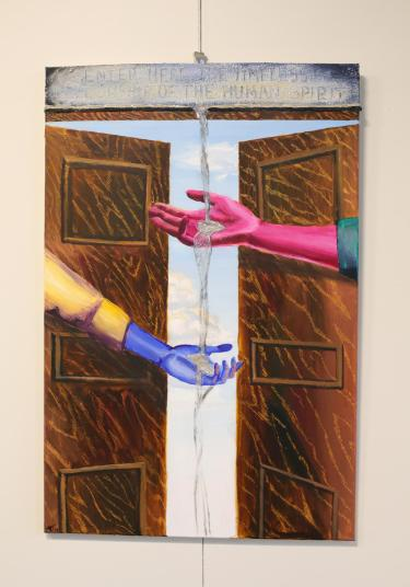 """""""The Timeless Fellowship,"""" by Alison Weinberger."""