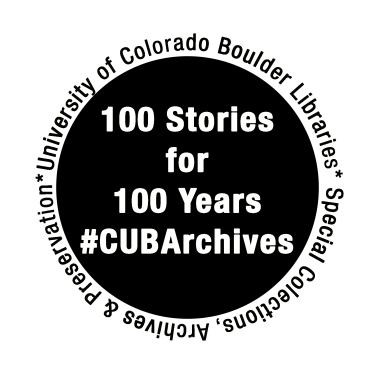 The logo of the CU Archives 100 Stories for 100 Years