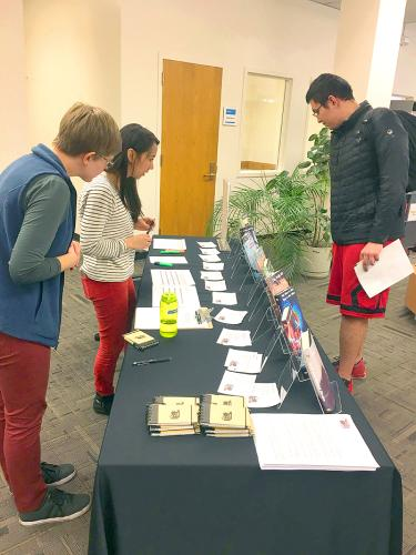 Students and Librarians at the 2018 CU Living Library