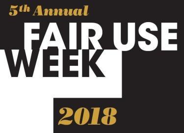 2018 Fair Use Week logo