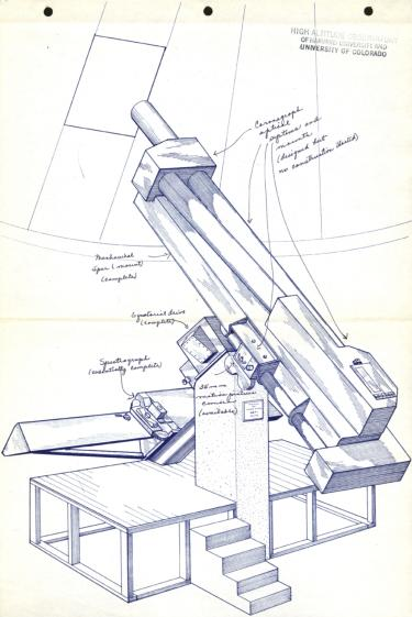 """6-inch aperture coronagraph"""" from the A"""