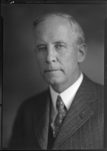 Portrait of former CU Boulder President George Norlin. He served in the role for roughly two decades.