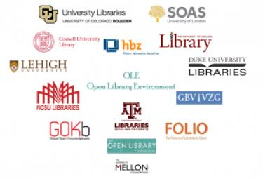 Logos of the ten OLE partner university libraries.