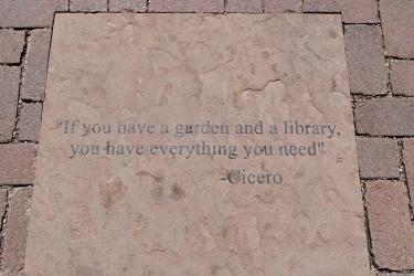 Quote outside of Norlin Library