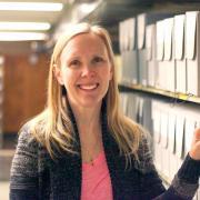 CU Boulder Photo Archivist Jennifer Sanchez