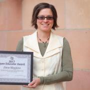 OEA recipient Diana Maggiore