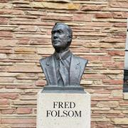 Statue of Fred Folsom