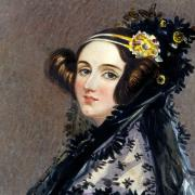 A portrait of Ada Lovelace
