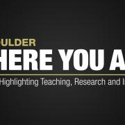 CU Boulder Where You Are logo