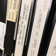 Videotapes from the Alan Lew collection