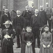 Members of the CU Graduating class of 1890