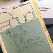 A paperback of Equal Rights for Women in Education