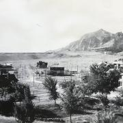 CU Boulder's the Hill neighborhood, as it looked at the turn of the 20th century.