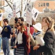Boulder activists from the BASJ