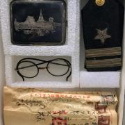 Personal items of George W. Nace from his time serving in Japan.