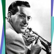 Glenn Miller and his trombone