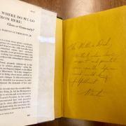 Inside inscription by MLK Jr. to his parents