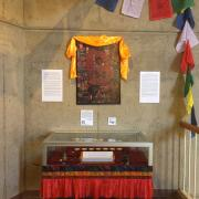 Tibetan exhibit in Norlin
