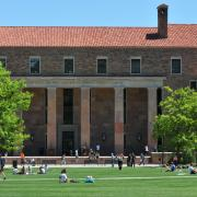 Norlin Library as seen from Norlin Quad