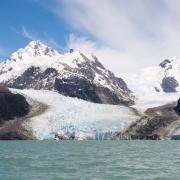 Leones Glacier, Aysén, Chile, December 1, 2011, Photograph by Christoph Strassler.