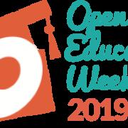 Open Education Week 2019 logo
