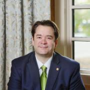 Robert McDonald, the new dean of the CU Boulder Libraries