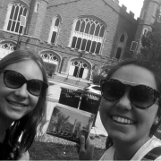 The two winners of our first Picture CU photo scavenger hunt