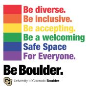 Be diverse Be inclusive Be a welcoming safe space for everyone