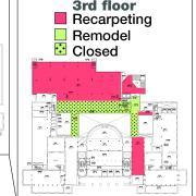 Floor plan of impacted areas in Norlin.