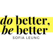 Text says do better, be better, Sofia Leung