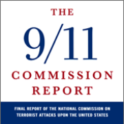 The cover of the 9/11 commission report