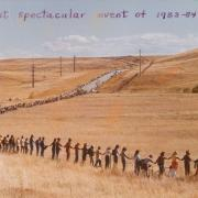 Protester's Encircling Rocky Flats