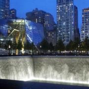 An image of the 9/11 Memorial and Museum