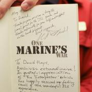 A personal thank you to David Hays by the author of One Marine's War for his help with archival resources and research.