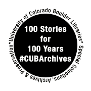 The logo for our 100 Stories for 100 Years of Archives.