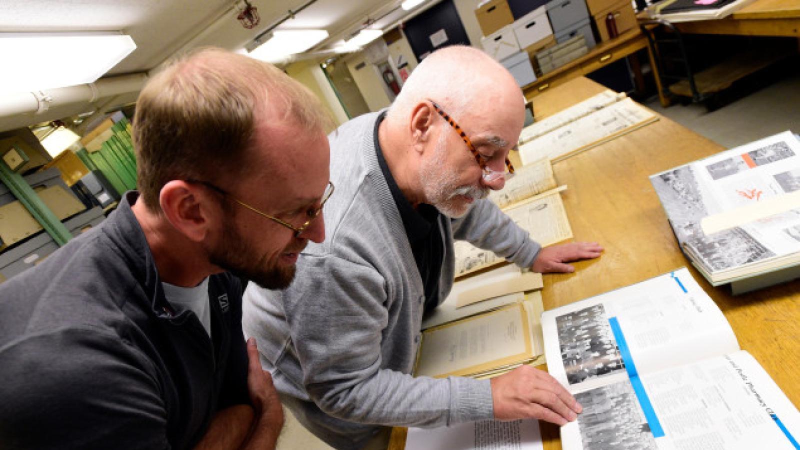 Adam Lisbon and David Hays. Photo taken by Boulder Daily Camera
