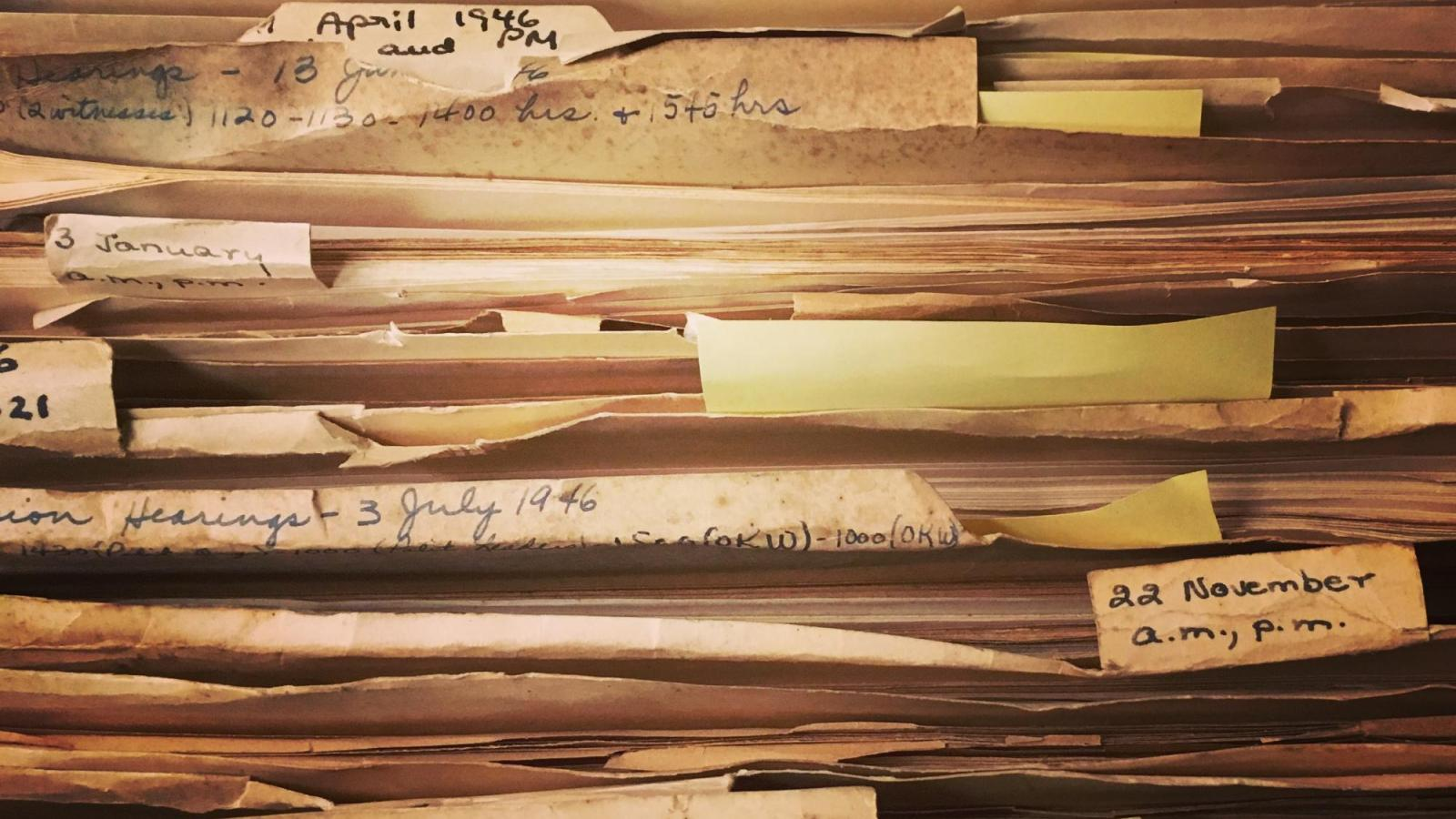 Files from the Mazel Holocaust Collection