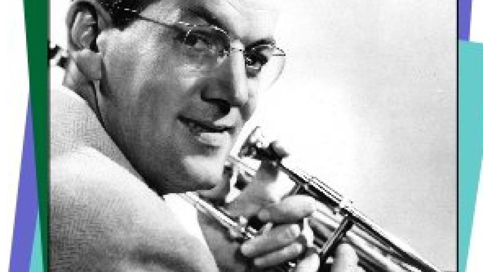 Glenn Miller and his trombone