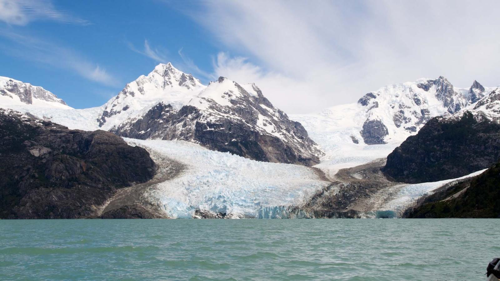 Leones Glacier, Aysén, Chile, December 1, 2011, Photograph by Christoph Strassler.