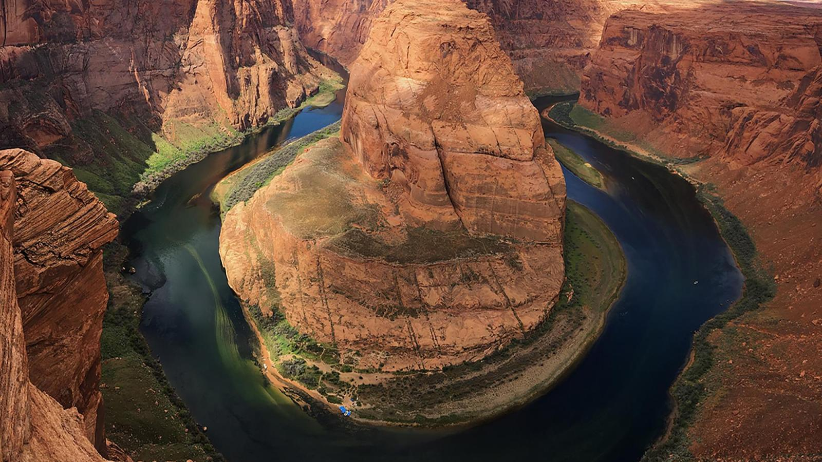 """""""Horseshoe Bend in Spring"""" by Emily Hipp"""
