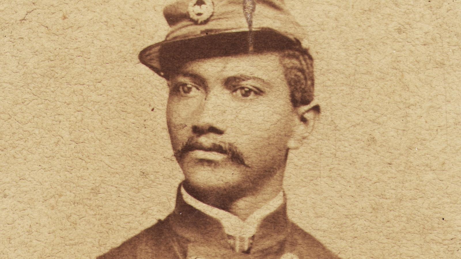 Alexander T. Augusta in uniform.