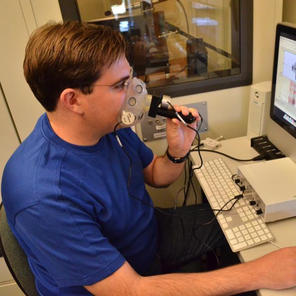 Nasal transducer in lab