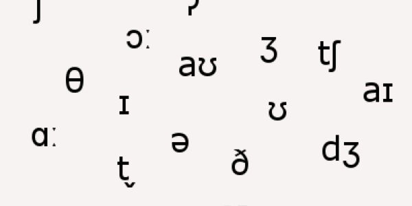 A collection of IPA symbols