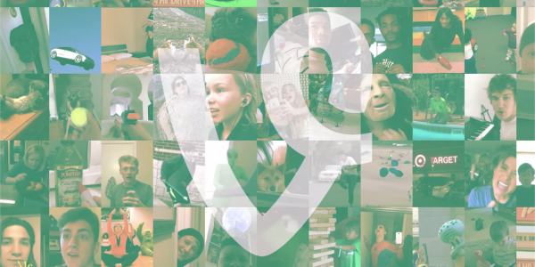 A mosaic of images from famous Vines