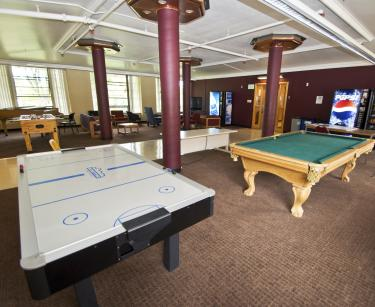 Hallett community lounge