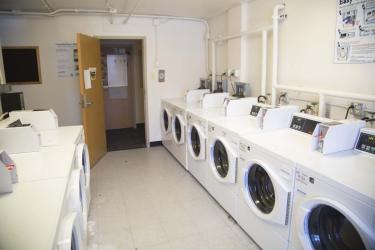 Hallett laundry room